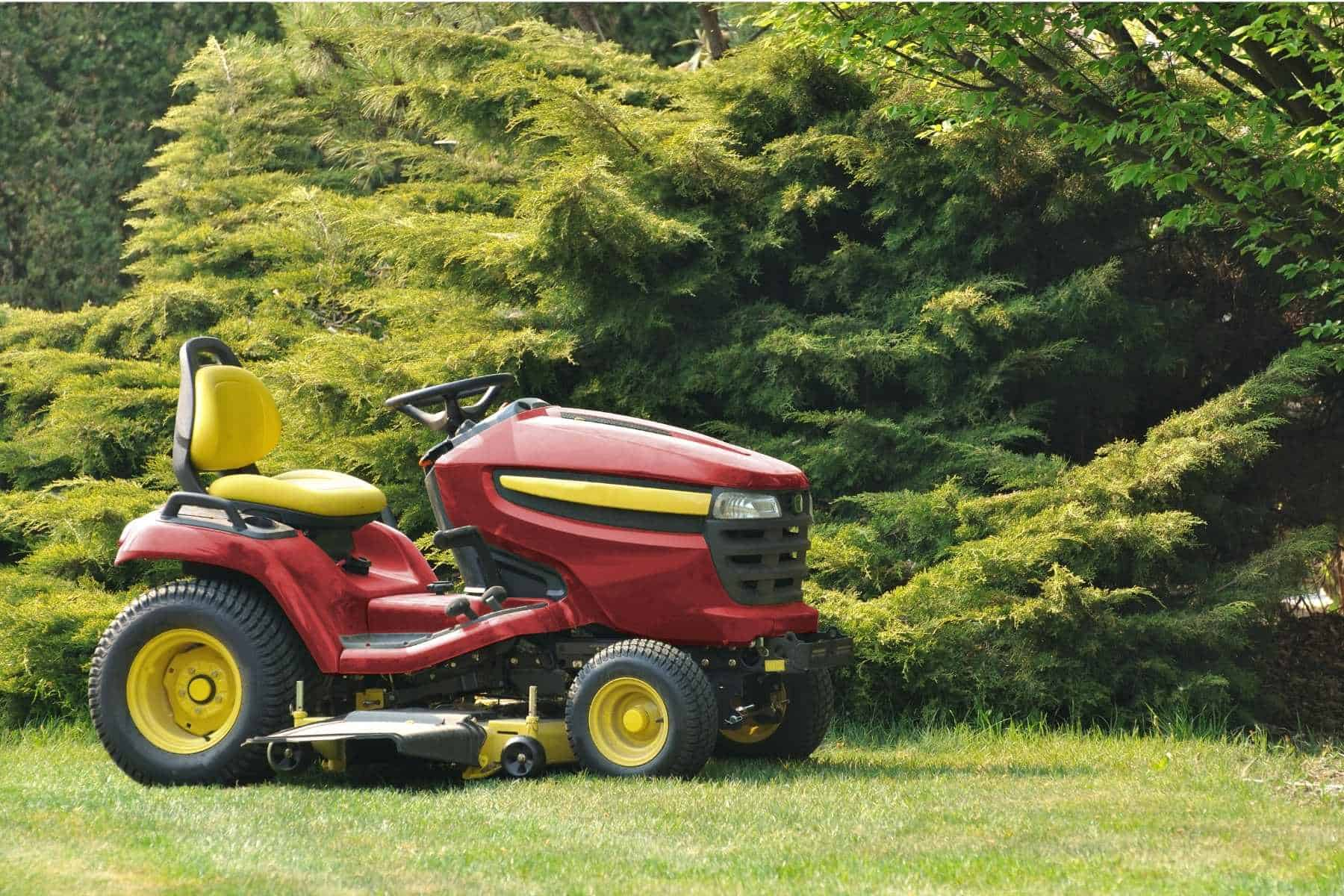 Can You Tip A Riding Lawn Mower On Its Side