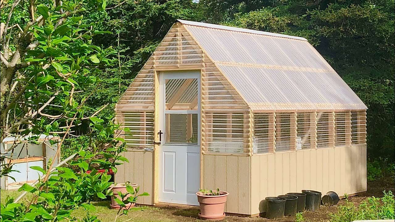 Gable Roof Greenhouse