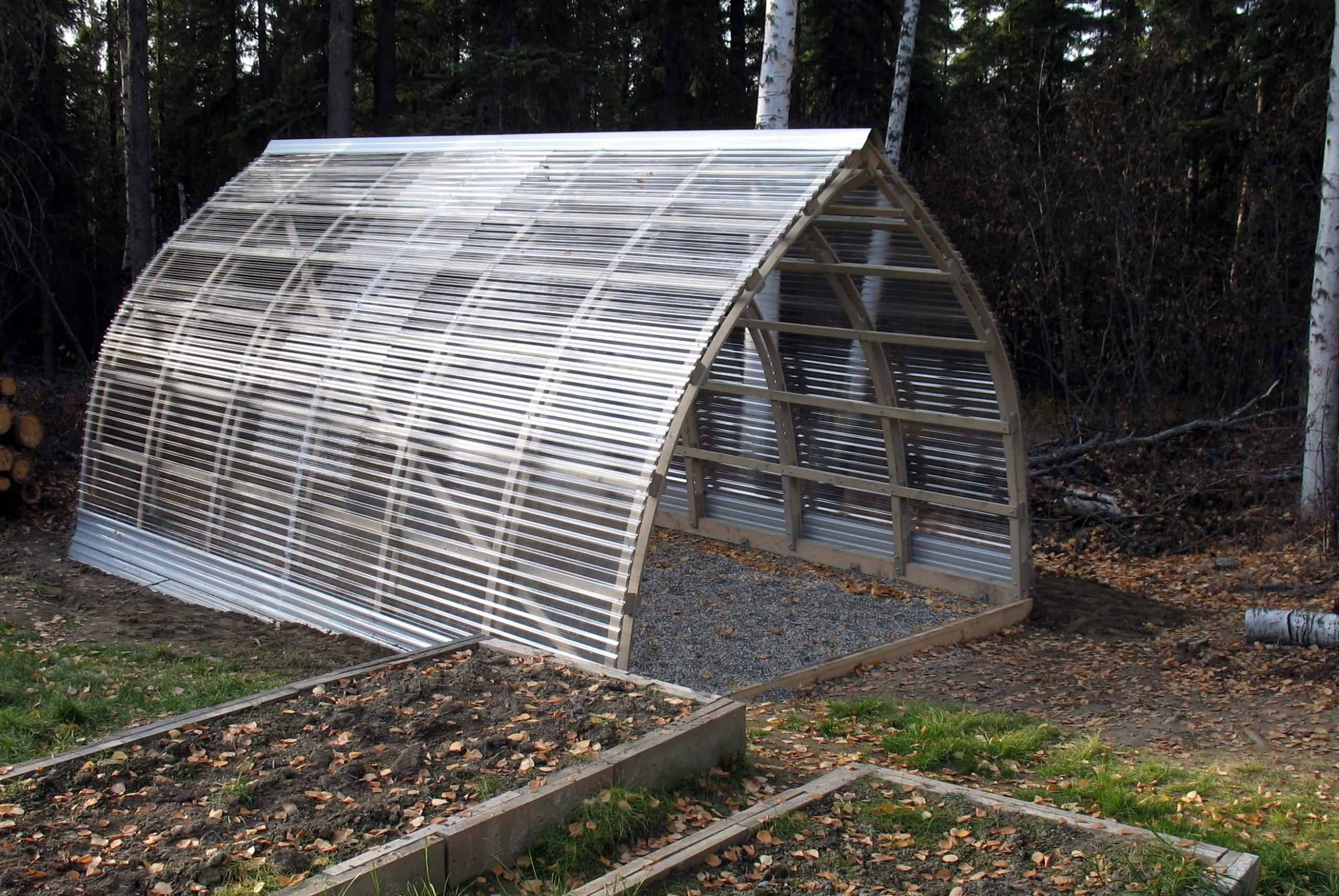 Gothic Arch Greenhouse