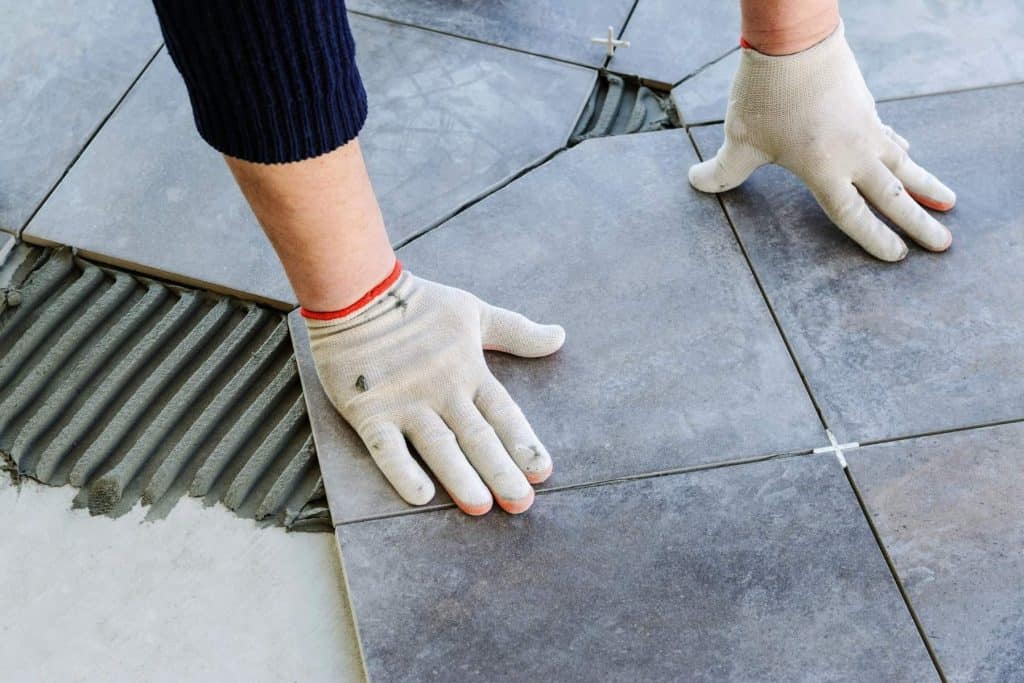 How to Edge Tile Without Bullnose
