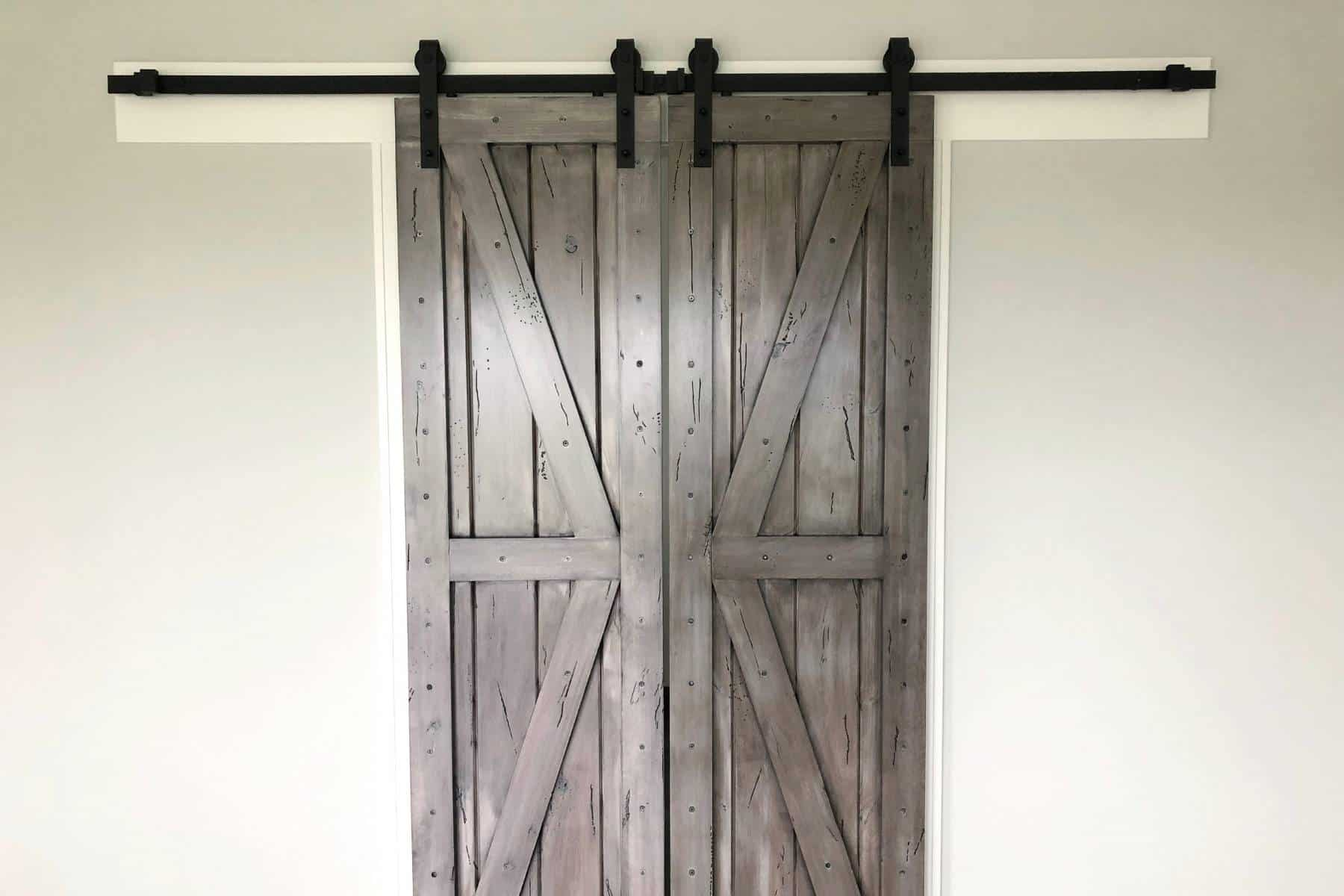 How to add Bathroom Privacy to Barn Door