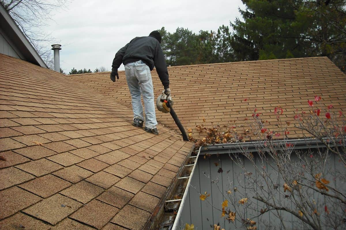 Prep And Clean Roof